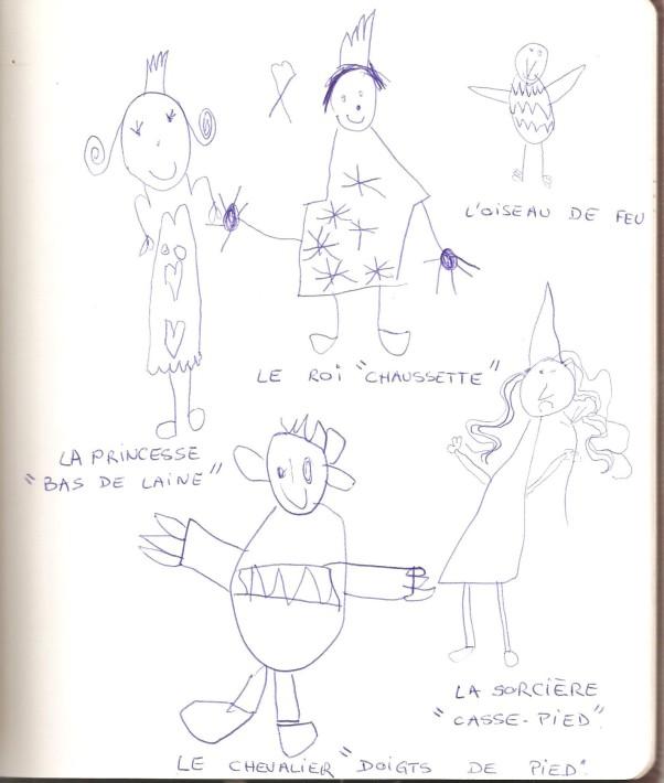 dessin enfant  '' Alix au pays des Merveilles '' 001