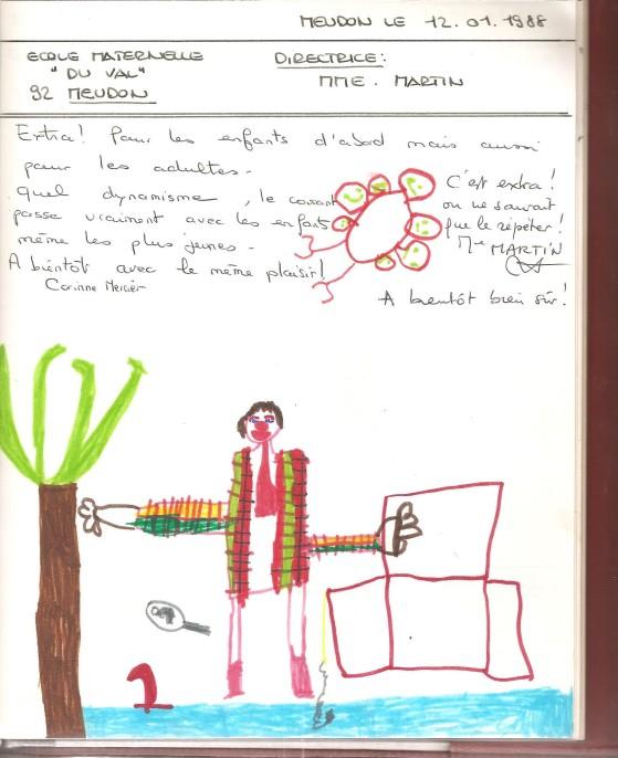livre d'or 1988 + dessin Meudon 001