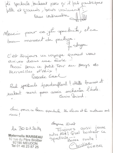 livre d'or Ecole maternelle Meudon 2014 001